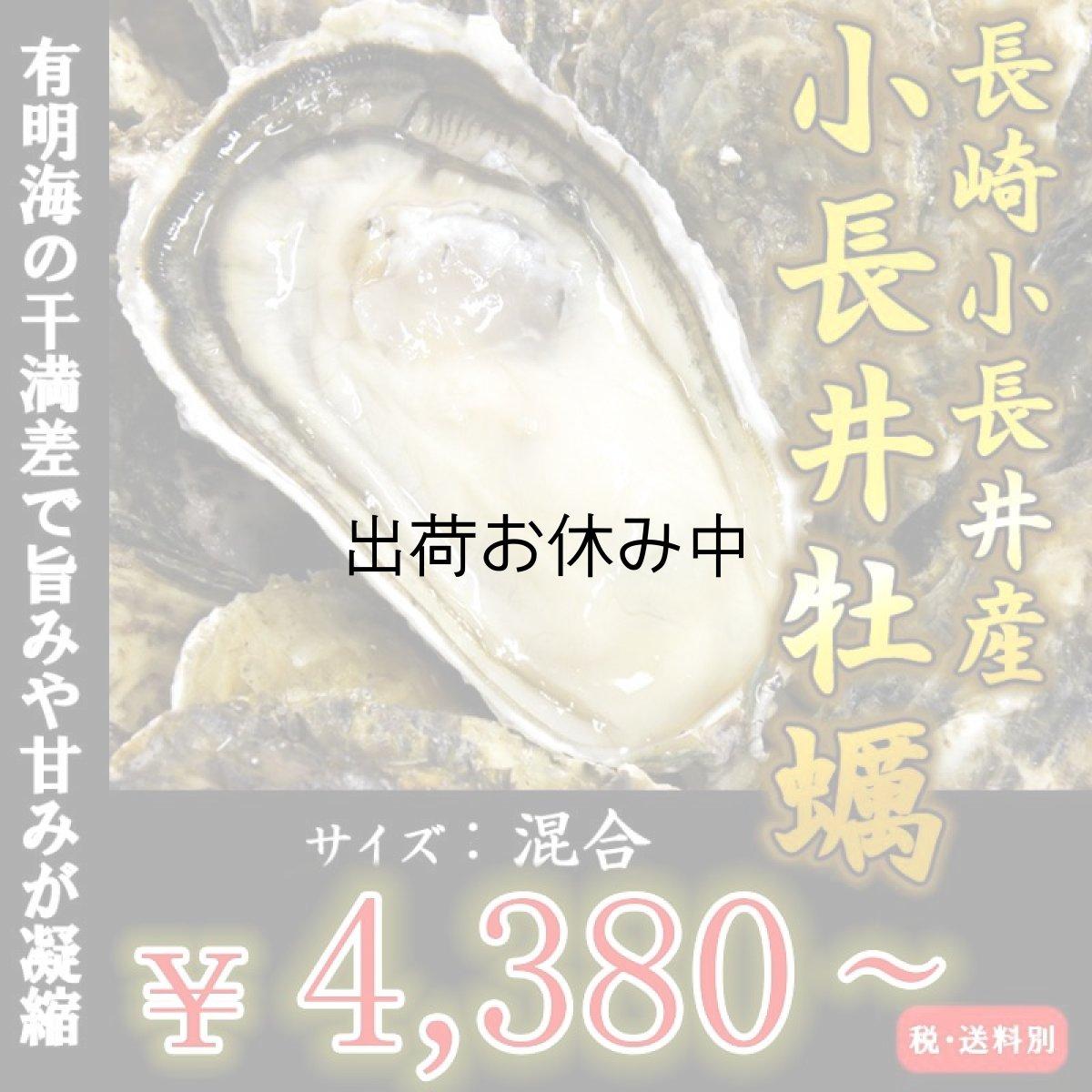 画像1: 【お急ぎ便】長崎小長井産 殻付牡蠣 (お届け地域限定) (1)