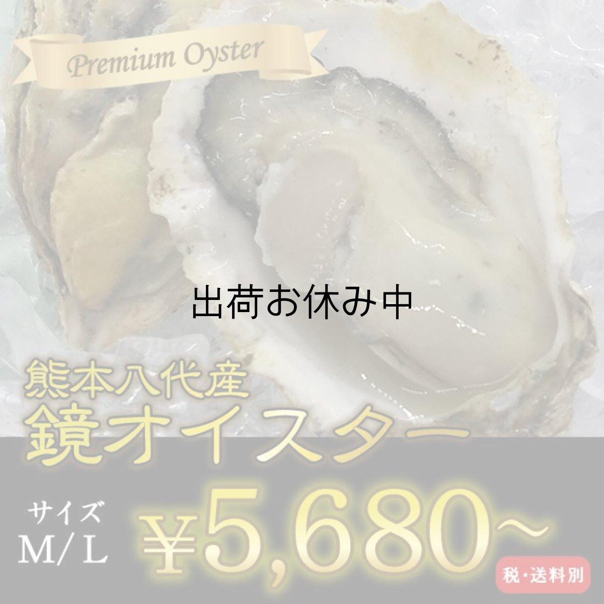 画像1: 【お急ぎ便】 熊本八代産 鏡オイスター(お届け地域限定) (1)