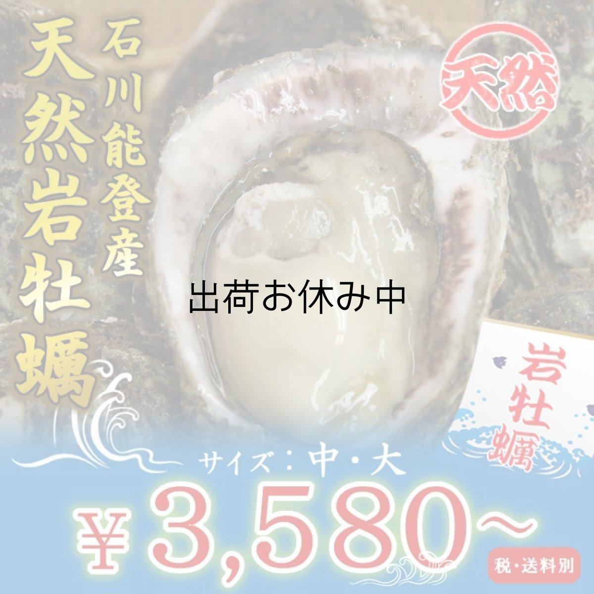 画像1: 石川能登産 天然岩牡蠣 (1)
