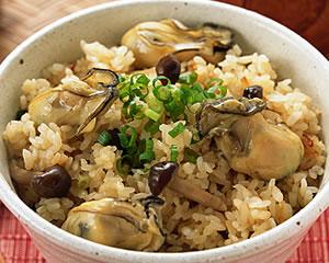 炊き込み牡蠣飯
