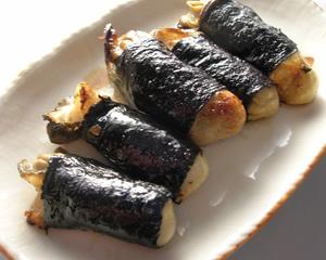 牡蠣の磯辺巻き まきまきカッキー