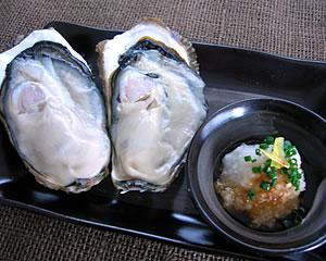 生牡蠣を美味しく!(ゆずぽんおろし)