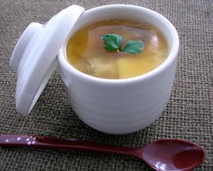 牡蠣の茶碗蒸し
