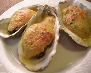 牡蠣のふわとろチーズ焼き