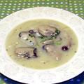 <むきみ牡蠣のレシピ>ミルクの風味まろやか牡蠣のチャウダー