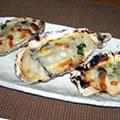 <殻付牡蠣のレシピ>殻つき牡蠣グラタン