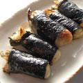 <むきみ牡蠣のレシピ>牡蠣の磯辺巻まきまきカッキー