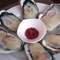 <生牡蠣のソース>牡蠣の梅しそソース