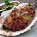 <殻付牡蠣のレシピ>牡蠣のカリカリ焼き(味噌チーズ)