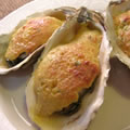 <殻付牡蠣のレシピ>牡蠣のとろふわチーズ焼き