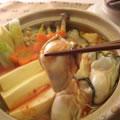 <むきみ牡蠣のレシピ>牡蠣キムチ鍋