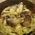 <むきみ牡蠣のレシピ>牡蠣と白菜の塩昆布和え