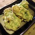 <むきみ牡蠣のレシピ>牡蠣の天ぷら(磯辺揚げ)