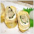 <むきみ牡蠣のレシピ>牡蠣のだし巻き玉子