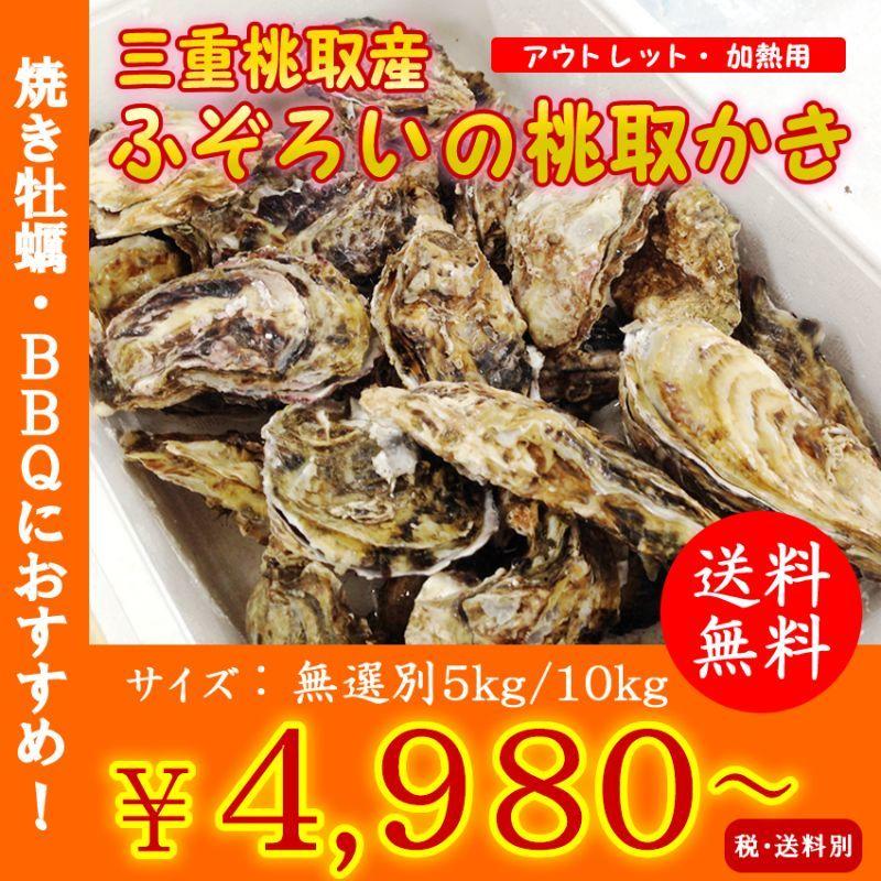 画像1: 三重答志島桃取産 ふぞろい牡蠣 (1)