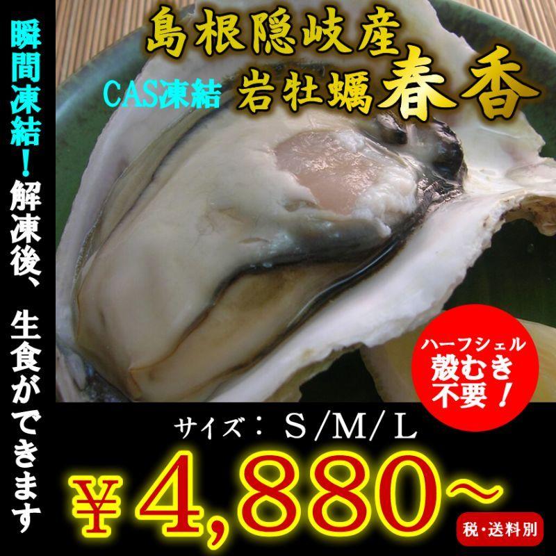 画像1: 島根隠岐産CAS凍結岩牡蠣春香 (1)