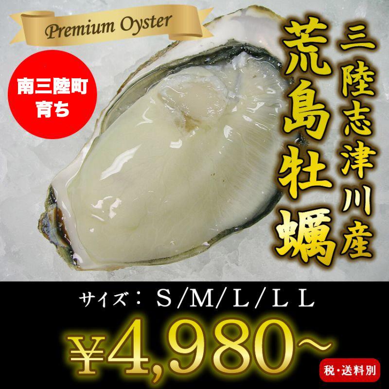 画像1: 三陸志津川産 荒島牡蠣 (1)