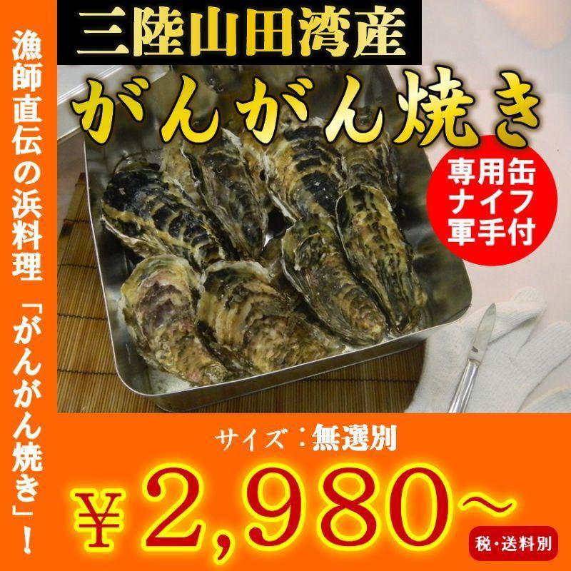 画像1: 三陸山田湾産 牡蠣のガンガン焼き (1)